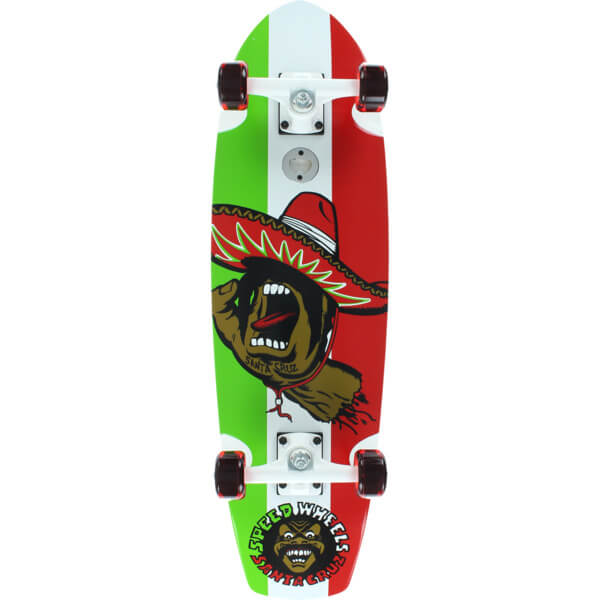 Santa Cruz Skateboards El Mano Street Shark Complete