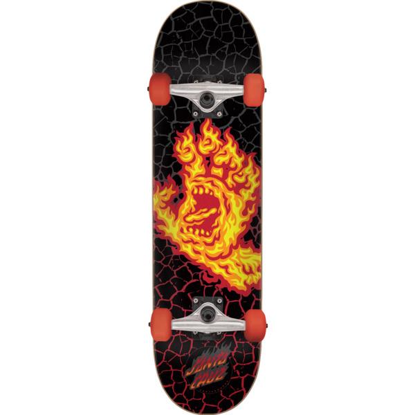 "Santa Cruz Skateboards Flame Hand Complete Skateboard - 8"" x 31.6"""