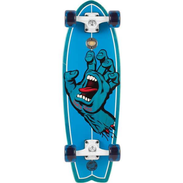 Santa Cruz Skateboards Screaming Hand Shark Complete