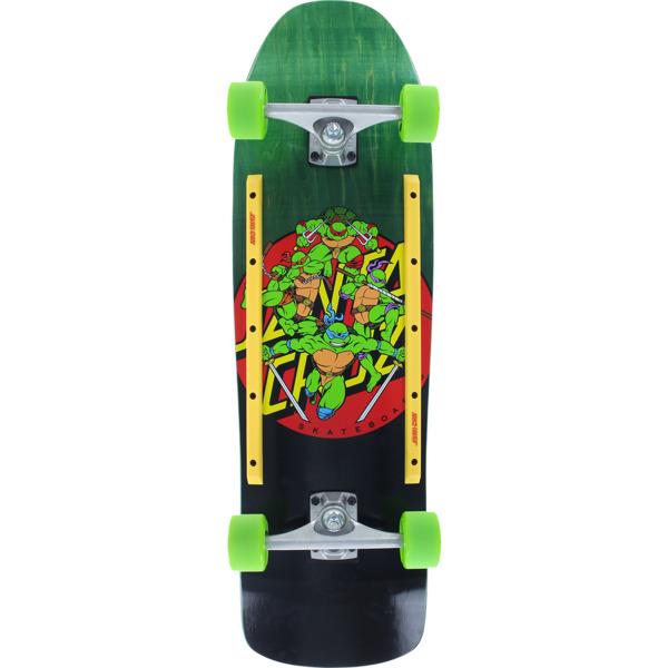 "Santa Cruz Skateboards TMNT Turtle Power 80s Complete Skateboard - 9.35"" x 31.7"""