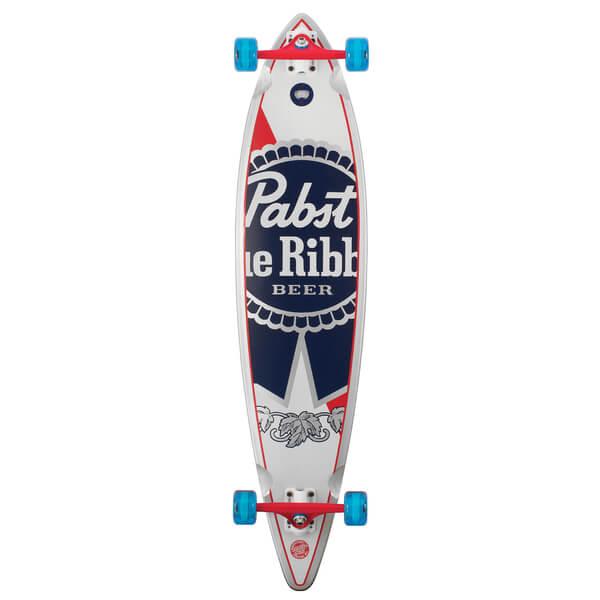 Santa Cruz PBC PBR Pintail Complete Longboard Skateboard