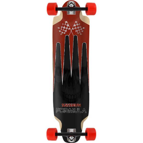 Sayshun Formula Complete Downhill Longboard Skateboard