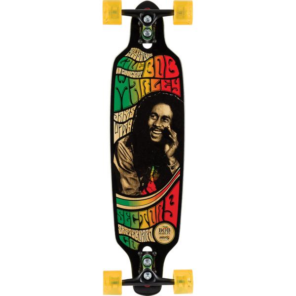 "Sector 9 Bamboo Bob Marley Rastaman Longboard Complete Skateboard - 8.75"" x 34"""