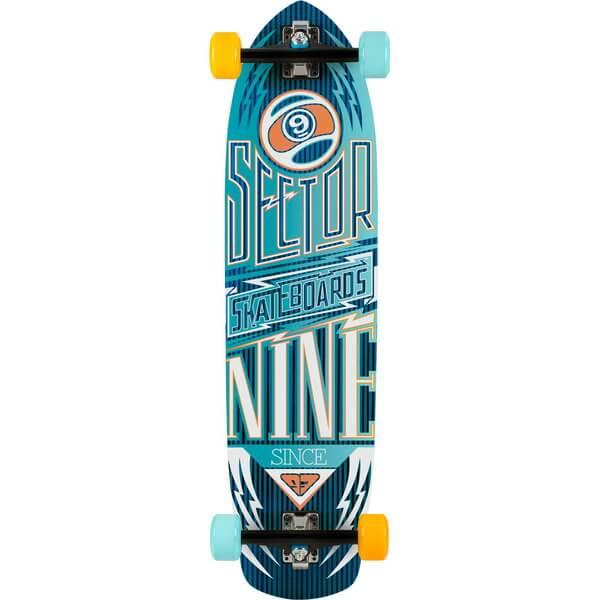 Sector 9 Carbon Flight Complete Longboard Skateboard