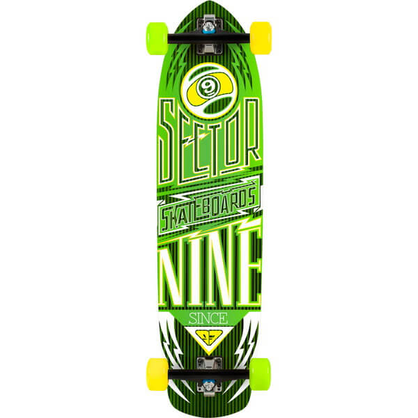 Sector 9 Carbon Flight Complete Longboard Skateboard