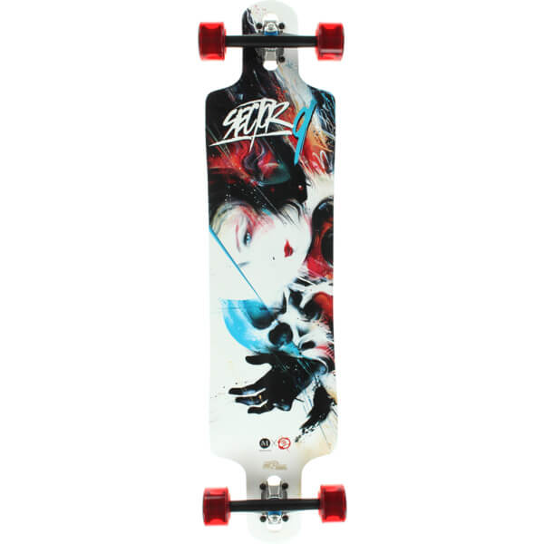 Sector 9 Kiss of Death Complete Longboard