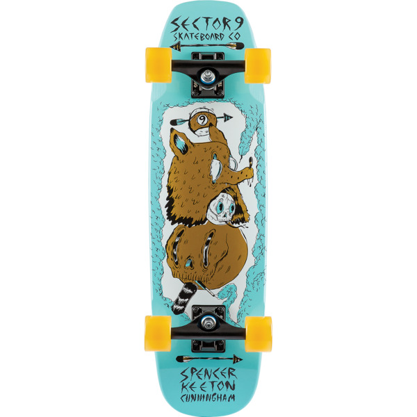 "Sector 9 SKC Pillar Cruiser Complete Skateboard - 8"" x 28.25"""