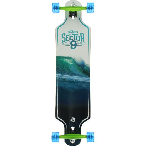"Sector 9 Whiteout Longboard Complete Skateboard - 9.25"" x 38"""