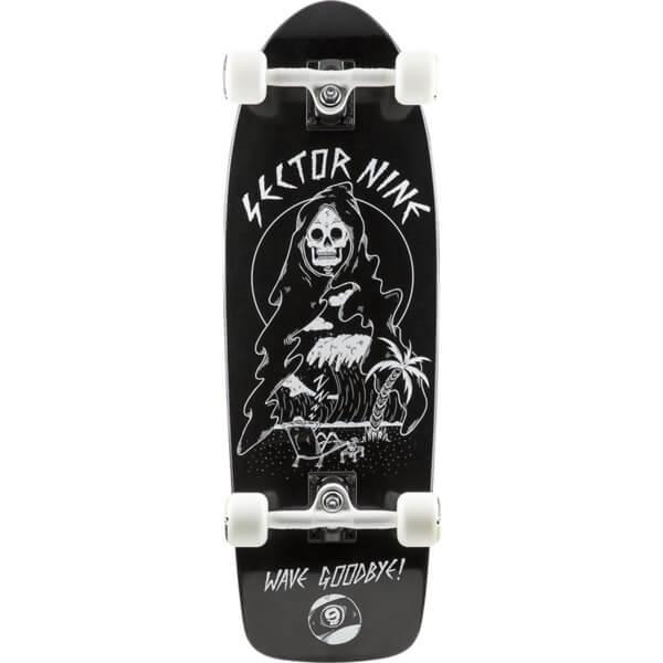 Sector 9 Fat Wave Reaper Cruiser Complete Skateboard 9 8