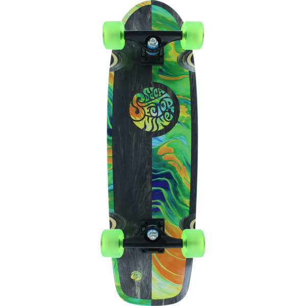 "Sector 9 Resin Cruiser Complete Skateboard Mini - 8.6"" x 30.5"""