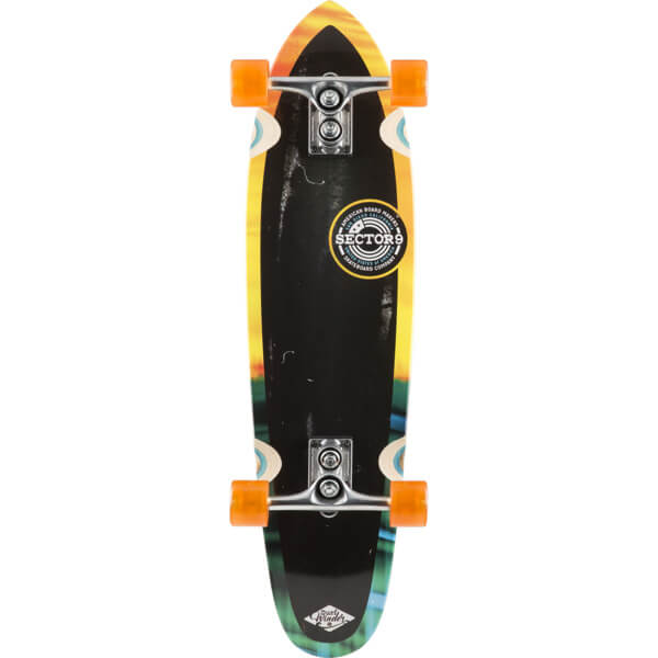 sector 9 getaway 16 black orange complete cruiser. Black Bedroom Furniture Sets. Home Design Ideas