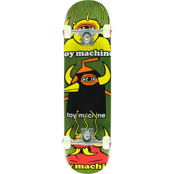 "Toy Machine Skateboards Chopped Up Complete Skateboard - 8"" x 31.63"""