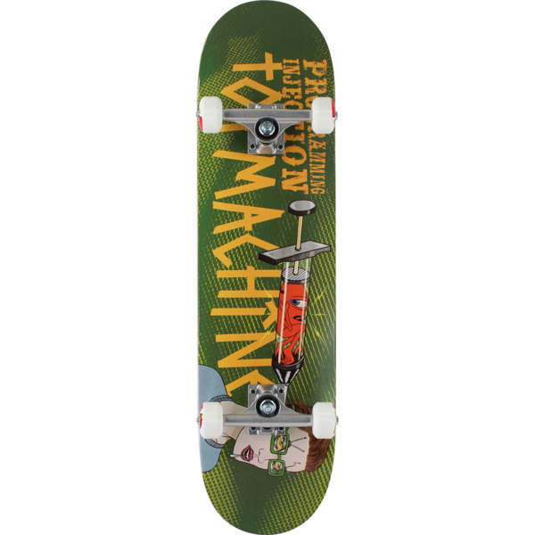 "Toy Machine Skateboards Programming Injection Complete Skateboard - 8"" x 31.75"""