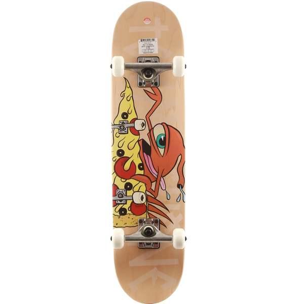 "Toy Machine Skateboards Pizza Shredder Sect Complete Skateboard - 7.75"" x 31.25"""
