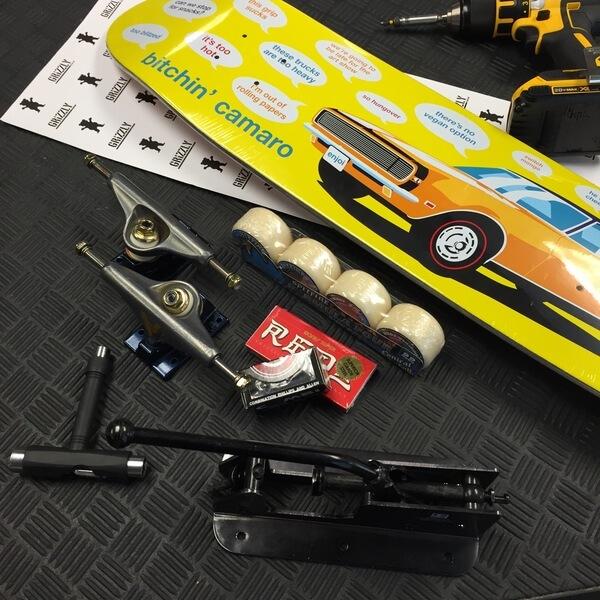 Warehouse Custom Complete Skateboard Assembly