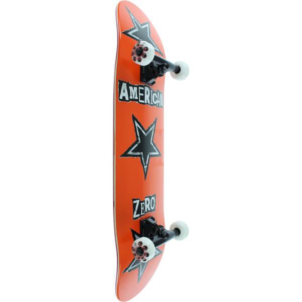 """Zero Skateboards American Ransom Orange Complete Skateboard - 8"""" x 32"""""""