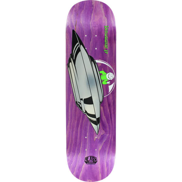 "Alien Workshop Dinosaur Jr. Peace Saucer Skateboard Deck - 8.25"" x 32.25"""