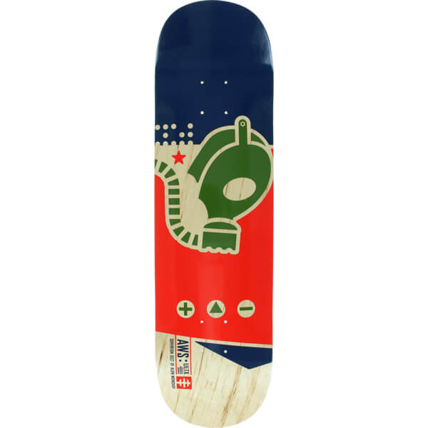 "Alien Workshop Gas Mask Medium Skateboard Deck - 8.25"" x 32.25"""