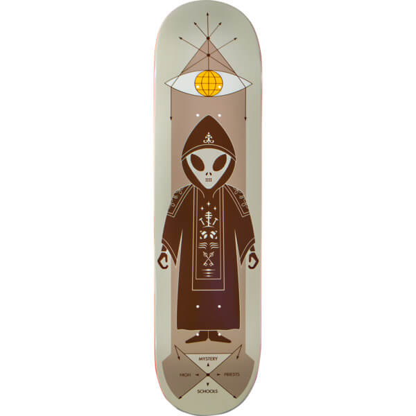 Priest Deck: Alien Workshop High Priest Monk Skateboard Deck