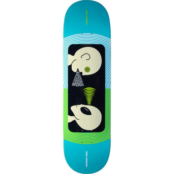 "Alien Workshop Mind Control Blue / Green Skateboard Deck - 8.37"" x 31.75"""