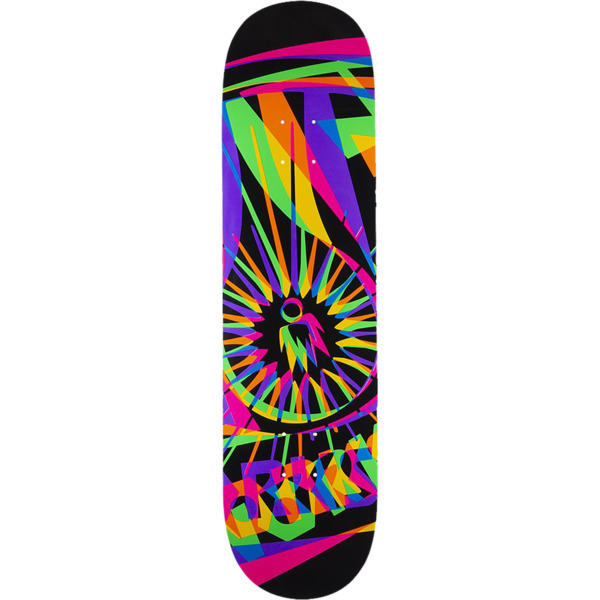"Alien Workshop OG Dayglo Black / Neon Skateboard Deck - 8.25"" x 32.25"""