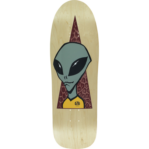 "Alien Workshop Visitor Reissue Natural Skateboard Deck - 9.67"" x 31.6"""