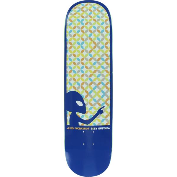 """Alien Workshop Joey Guevara Astral Blue Skateboard Deck - 8.25"""" x 31.75"""""""