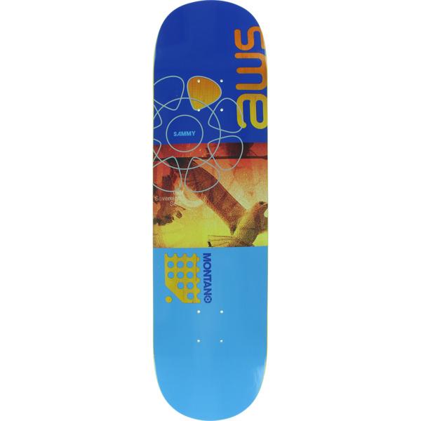 """Alien Workshop Sammy Montano Rolling shutter Purple / Blue Skateboard Deck - 8.25"""" x 31.75"""""""