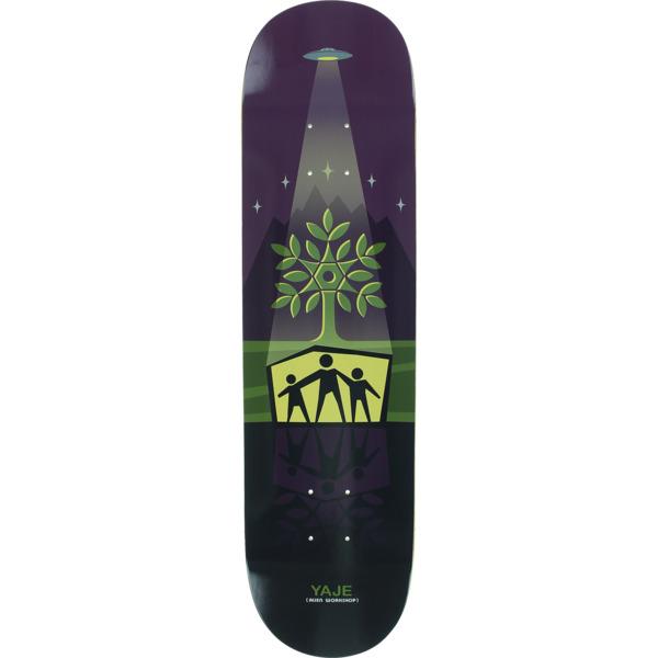 """Alien Workshop Yaje Popson Shelter Purple Skateboard Deck - 7.87"""" x 31.125"""""""