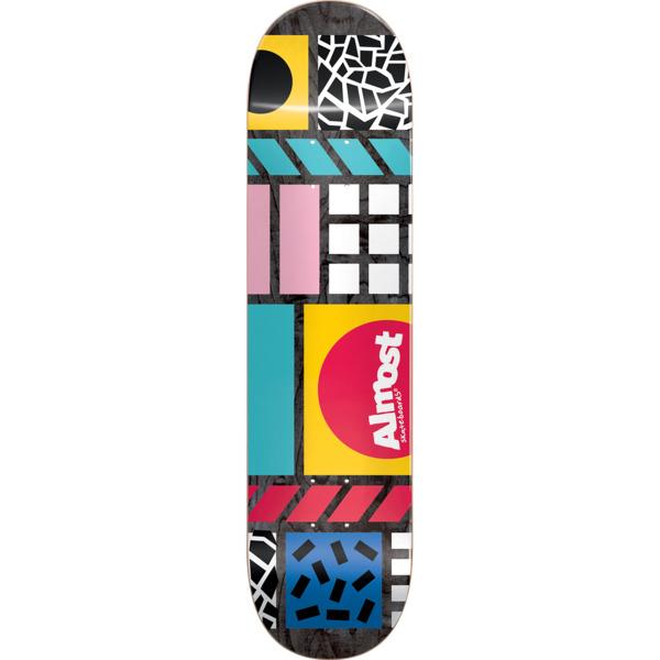 Almost Skateboards New Wave Black Skateboard Deck - 8 x 31