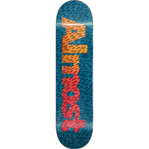 "Almost Skateboards Ultimate Cover Up Blue Skateboard Deck Resin-7 - 8.25"" x 32.1"""
