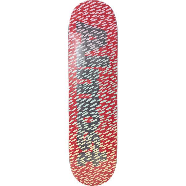 "Almost Skateboards Ultimate Cover Up Red / Black Skateboard Deck Resin-7 - 8.25"" x 32"""
