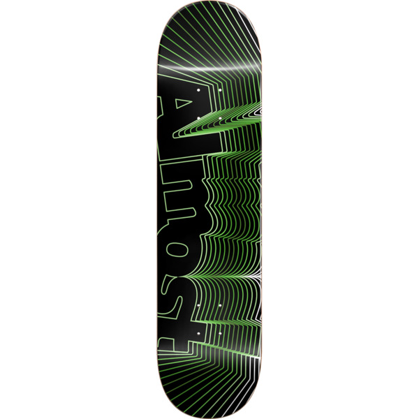 "Almost Skateboards Vibrate Green Skateboard Deck - 8.5"" x 32.2"""