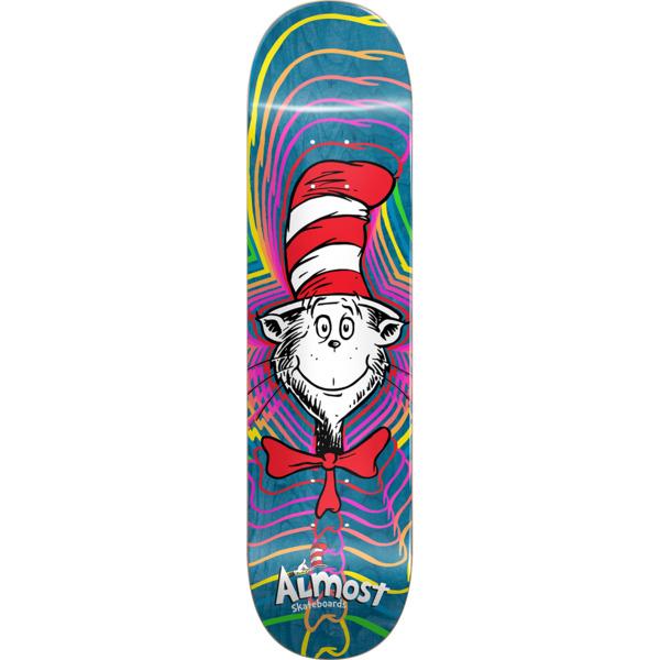 """Almost Skateboards Zoom Cat Skateboard Deck Resin-7 - 8.37"""" x 32.2"""""""