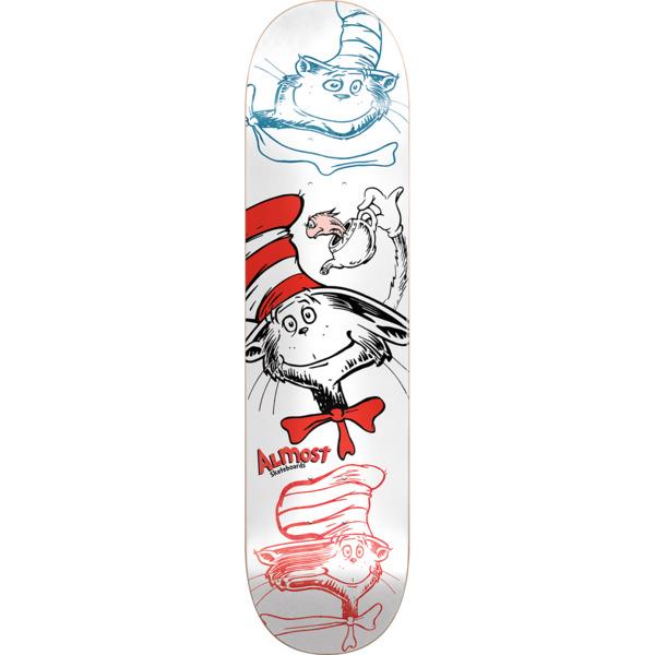 "Almost Skateboards Yuri Facchini Cat N Fish Skateboard Deck Resin-7 - 8"" x 31.7"""