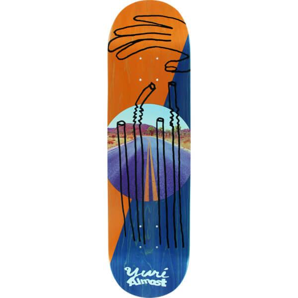 """Almost Skateboards Yuri Facchini Diagonal Skateboard Deck Resin-7 - 8.25"""" x 31.9"""""""