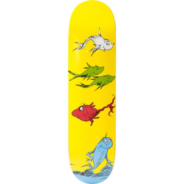 "Almost Skateboards Yuri Facchini Dr. Seuss Skateboard Deck Resin-7 - 8"""