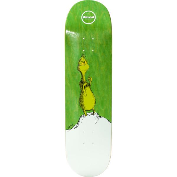 "Almost Skateboards Yuri Facchini Grinch Skateboard Deck Resin-7 - 8.37"" x 32"""