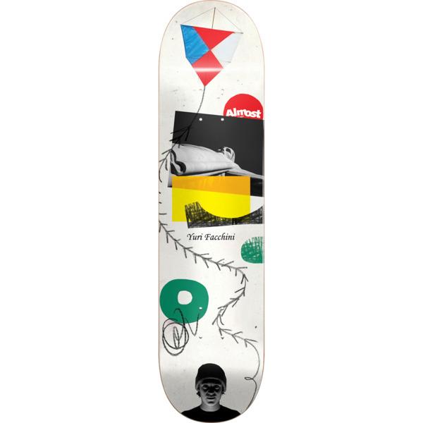 "Almost Skateboards Yuri Facchini Scraps Skateboard Deck - 8.25"" x 32"""