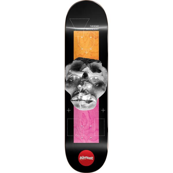 "Almost Skateboards Yuri Facchini Stone Head Invert Skateboard Deck Impact Light - 8.37"" x 32.2"""