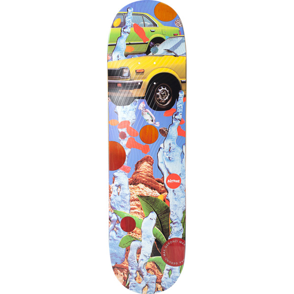 "Almost Skateboards Max Geronzi Nonsense Skateboard Deck Resin-7 - 8.25"" x 31.9"""