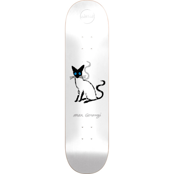 "Almost Skateboards Max Geronzi Pets White Skateboard Deck Resin-7 - 8.12"" x 31.8"""