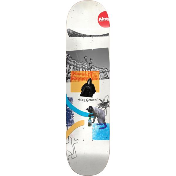 "Almost Skateboards Max Geronzi Scraps Skateboard Deck - 8.37"" x 32"""