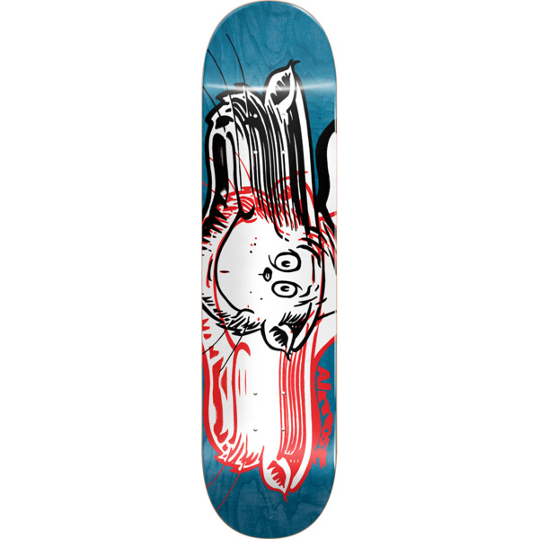 "Almost Skateboards Max Geronzi Warped Cat Skateboard Deck Resin-7 - 8"" x 31.7"""