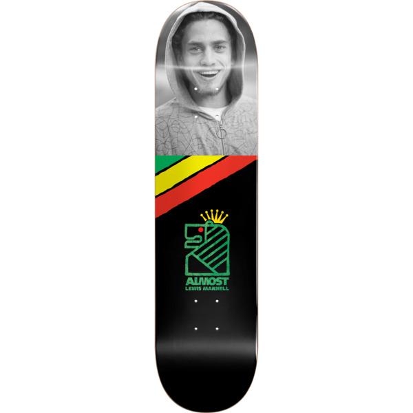 "Almost Skateboards Lewis Marnell Smile Skateboard Deck - 8"" x 31.75"""