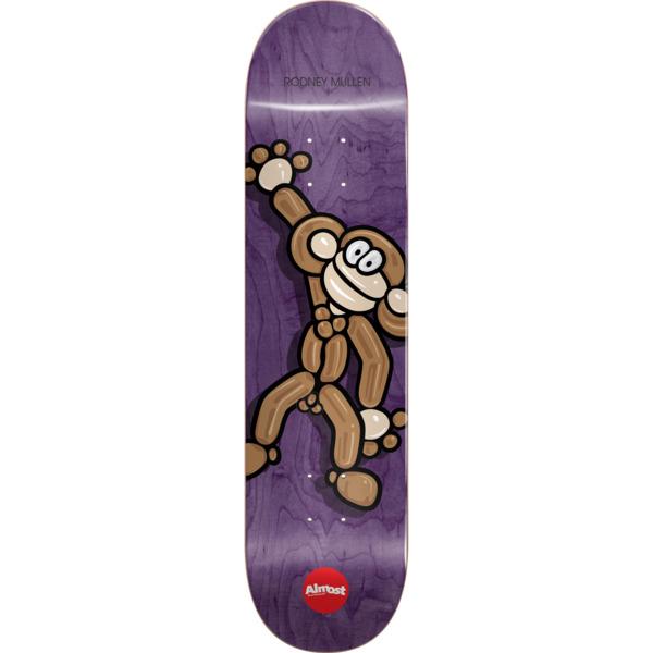 "Almost Skateboards Rodney Mullen Balloon Animals Purple Skateboard Deck Resin-7 - 8.12"" x 31.7"""