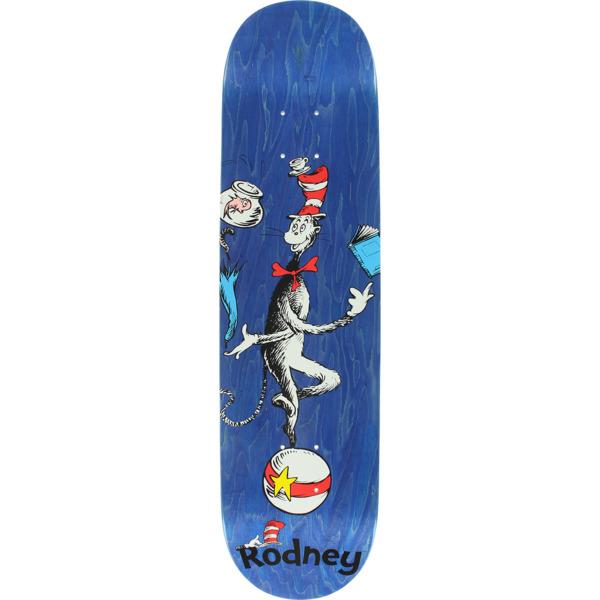 "Almost Skateboards Rodney Mullen Cat Ball Blue Skateboard Deck Resin-7 - 7.87"" x 31.4"""