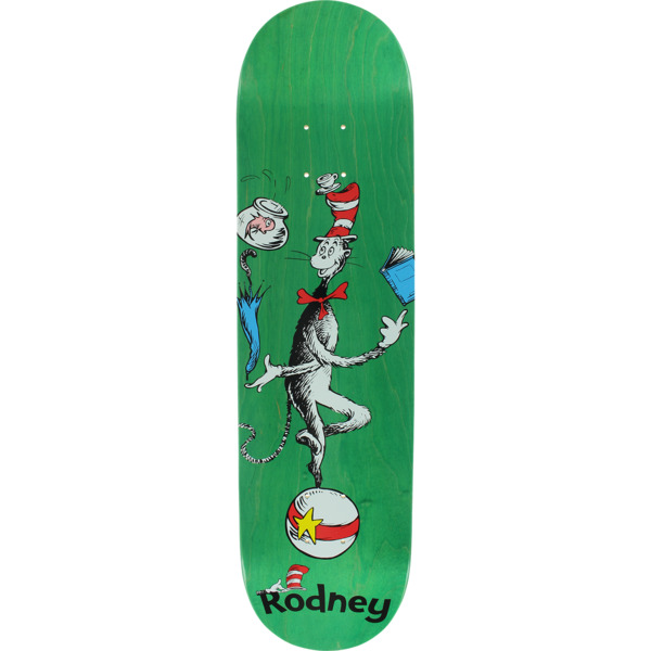 "Almost Skateboards Rodney Mullen Cat Ball Assorted Colors Skateboard Deck Resin-7 - 8"" x 31.9"""