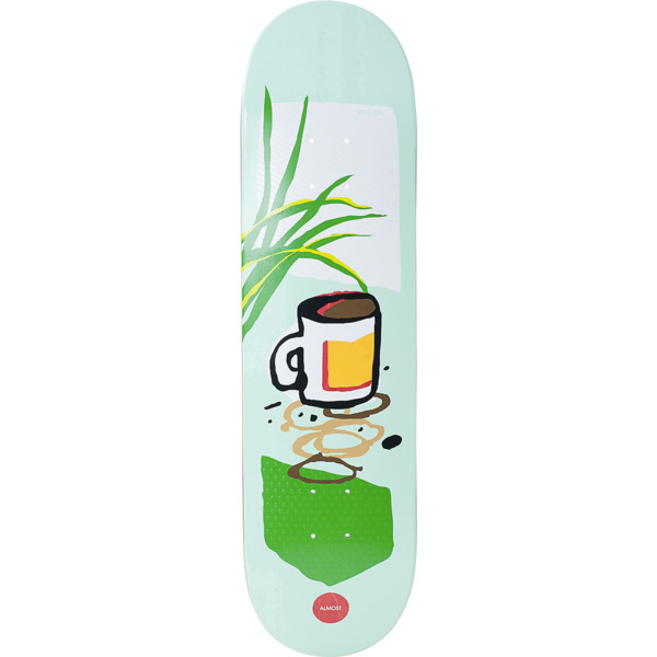 "Almost Skateboards Rodney Mullen Still Life Skateboard Deck Resin-7 - 8.25"" x 31.9"""