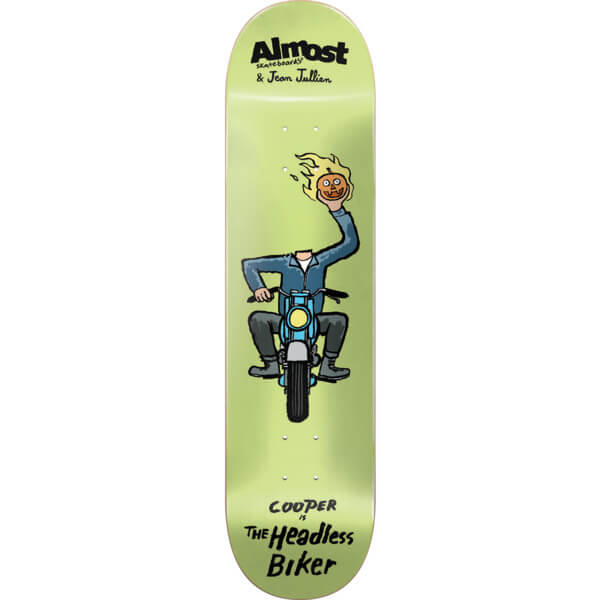 "Almost Skateboards Cooper Wilt Jean Jullien Monster Skateboard Deck Resin-7 - 8.37"" x 31.8"""